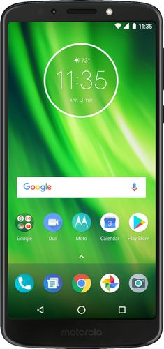 Virgin Mobile Motorola Moto G6 Play 16GB Prepaid Smartphone, Black