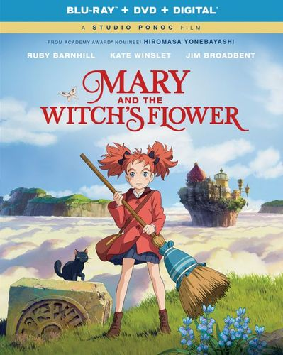 Mary and the Witch's Flower [Includes Digital Copy] [Blu-ray] [2017] 6216394