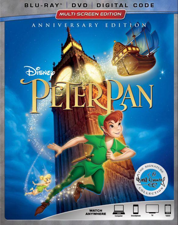 Peter Pan [Signature Collection] [Blu-ray/DVD] [1953] 6219606
