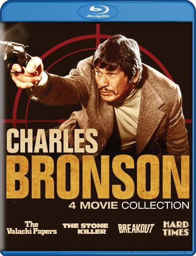 Charles Bronson Collection: 4 Movie Collection [Blu-ray] 6220610