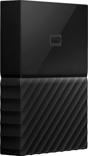 WD My Passport for Mac 3TB External USB 3.0 Portable Hard Drive with Hardware Encryption Black WDBP6A0030BBK-WESE