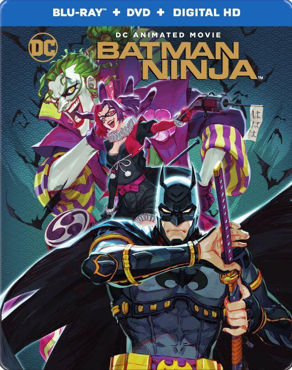 Batman Ninja [SteelBook] [Includes Digital Copy] [Blu-ray/DVD] [2018] 6220793