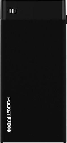 Tzumi PocketJuice - Power bank - 20000 mAh - Quick Charge 3.0 - 2 output connectors (USB) - black
