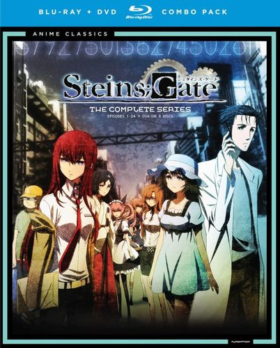 Steins;Gate: The Complete Series [8 Discs] [Blu-ray/DVD] 6221088