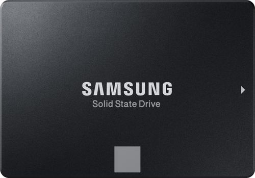 Samsung 860 EVO MZ-76E2T0B - Solid state drive - encrypted - 2 TB - internal - 2.5u0022 - SATA 6Gb/s - buffer: 2 GB - 256-bit AES - TCG Opal Encryption 2.0