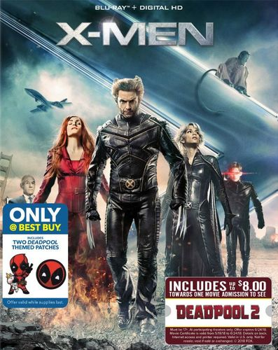 X-Men Trilogy Pack [Blu-ray] [Movie Money] [Only @ Best Buy] 6221334