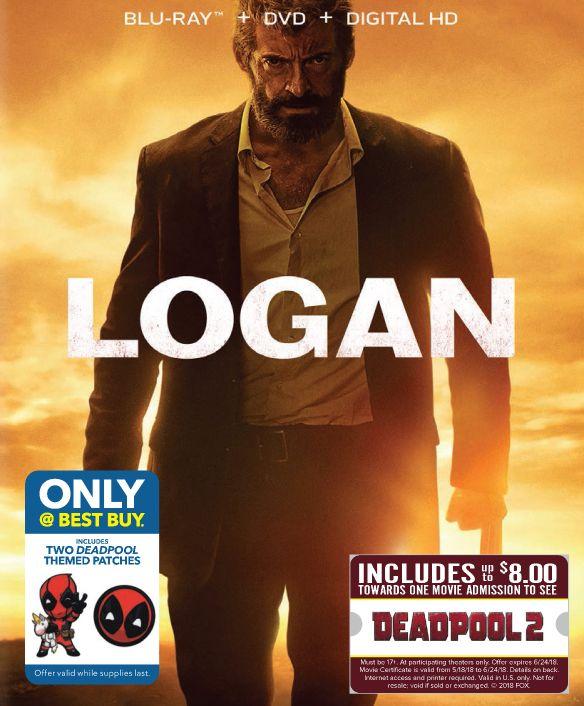 Logan [Blu-ray/DVD] [Movie Money] [Only @ Best Buy] [2017] 6221336