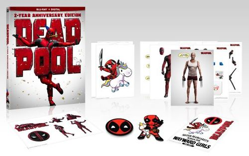 Deadpool [2 Year Anniversary Edition] [Blu-ray] [Gift with Purchase] [2016] 6221337