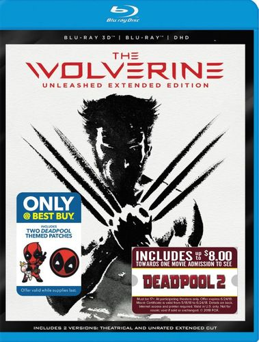 The Wolverine [3D] [Blu-ray] [Movie Money] [Only @ Best Buy] [Blu-ray/Blu-ray 3D] [2013] 6221346