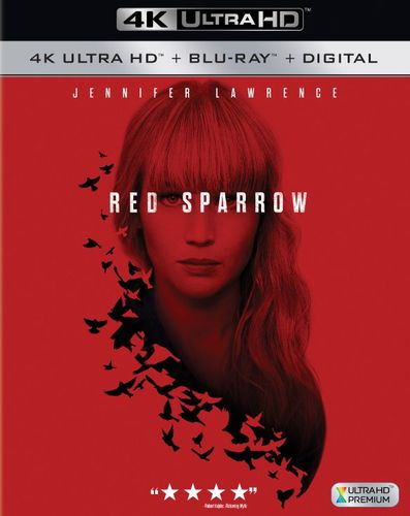 Red Sparrow [4K Ultra HD Blu-ray/Blu-ray] [2018] 6221347