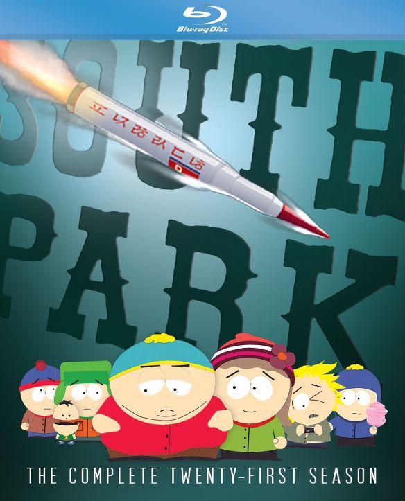 South Park: The Complete Twenty-First Season [Blu-ray] 6221365