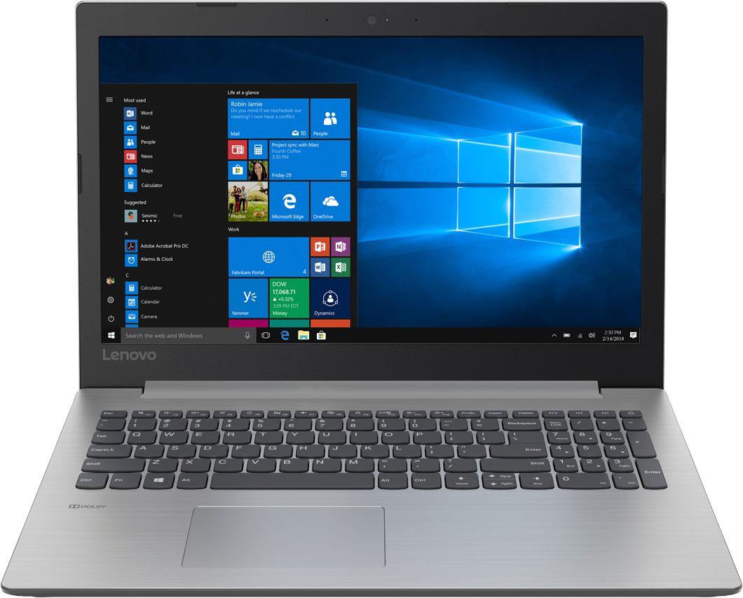 "Lenovo - 330-15IGM 15.6"" Laptop - Intel Celeron - 4GB Memory - 500GB Hard Drive - Platinum Gray"