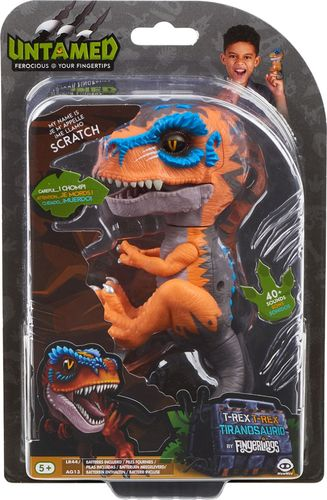 Fingerlings Untamed Scratch Dinosaur Figure