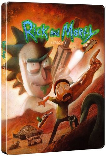 Rick and Morty: Season 3 [SteelBook] [Blu-ray] [Only @ Best Buy] 6223103