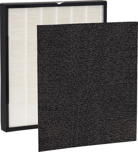 GermGuardian - True HEPA GENUINE Replacement Filter for GermGuardian Air Purifier - White With Black Border 6225234