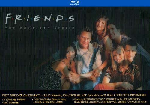 Friends: The Complete Series Collection [21 Discs] [Blu-ray] 6226061