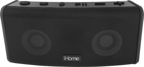 iHome iBT588B Rechargeable Waterproof Bluetooth Color Changing Speaker