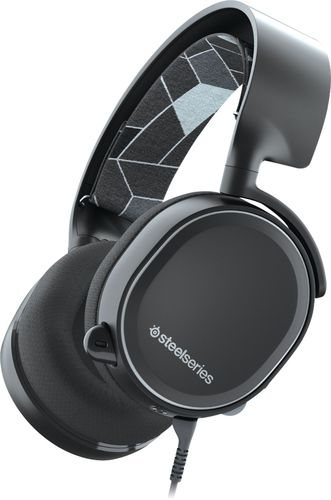 SteelSeries - Arctis 3 Wired Console Edition Gaming Headset for Xbox One, Mac, PS4, Windows, Nintendo Switch, Android and iOS - Black
