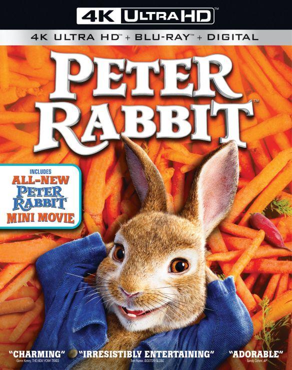 Peter Rabbit [4K Ultra HD Blu-ray/Blu-ray] [2018] 6228237