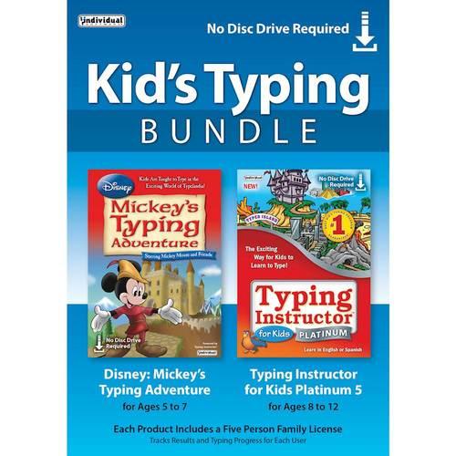 Individual Software Inc. TDB-KTB Kids Typing Bundle