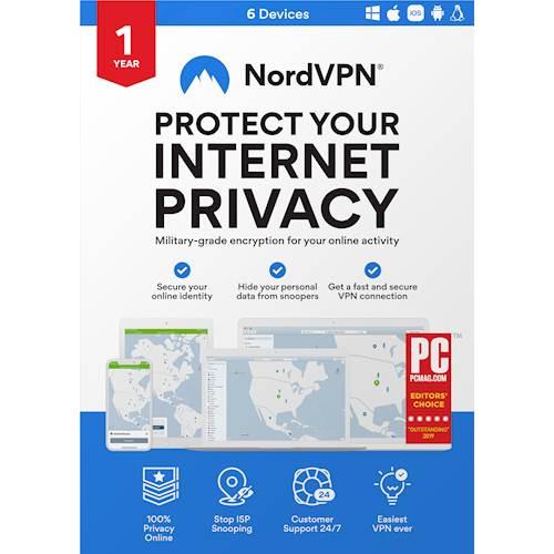 NordVPN (1-Year Subscription)...