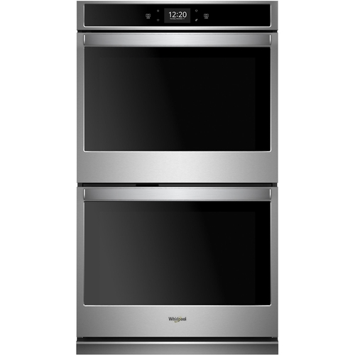 Whirlpool 30 in. Smart Double Electric Wall Oven with True Convection in Fingerprint Resistant Stainless Steel