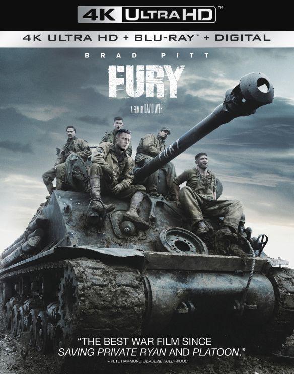 Fury [4K Ultra HD Blu-ray/Blu-ray] [2014] 6229922