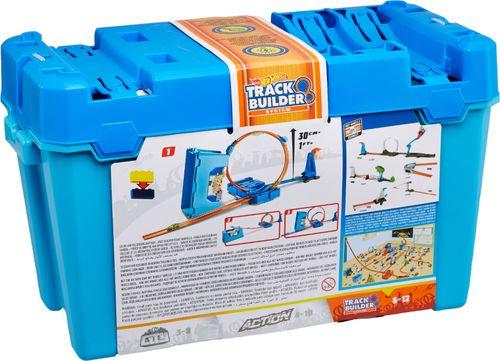 Hot Wheels - Track Builder Multi Loop Box Set - Blue/Orange 6230719