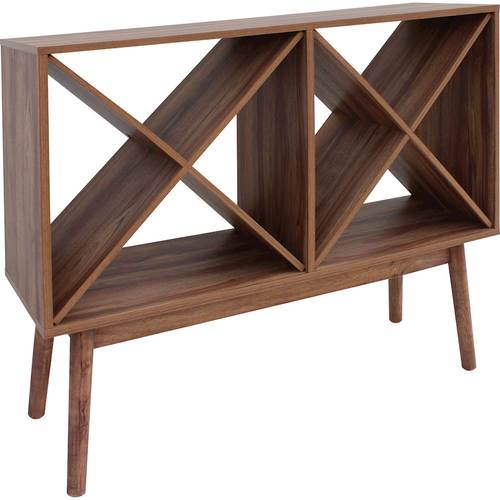 Noble House - Reno Wine Cabinet - Walnut 6233291