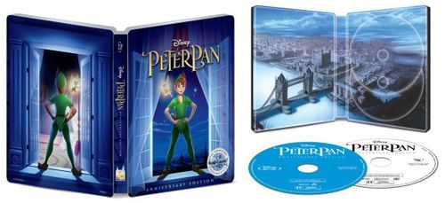 Peter Pan [Signature Collection] [SteelBook] [Blu-ray/DVD] [Only @ Best Buy] [1953] 6234450