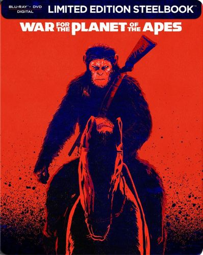 War for the Planet of the Apes [SteelBook] [Blu-ray/DVD] [Only @ Best Buy] [2017] 6234472