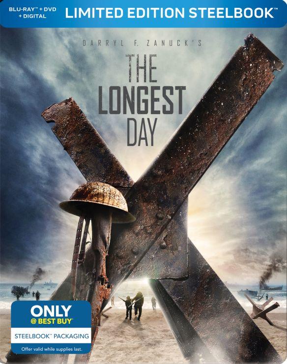 The Longest Day [SteelBook] [Blu-ray/DVD] [Only @ Best Buy] [1962] 6234473