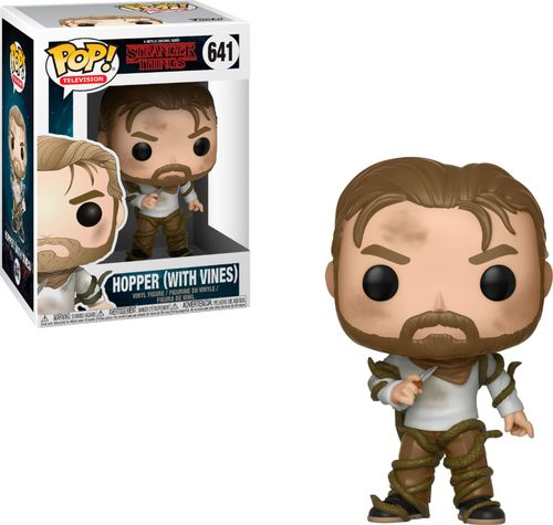 Funko POP! Television: Stranger Things - Hopper with Vines
