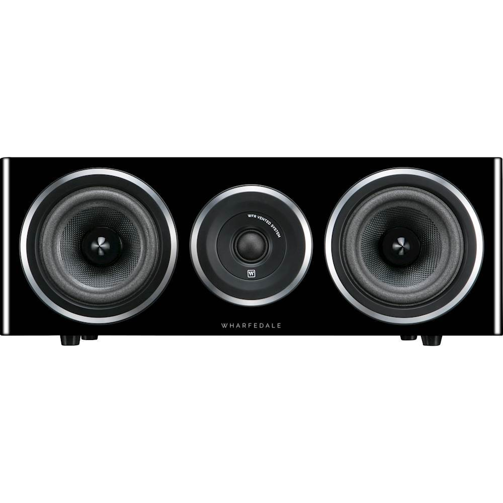 "Wharfedale Diamond 11 Dual 5"" 2-Way Center-Channel Speaker (Each) Blackwood WHD11CSBLK"