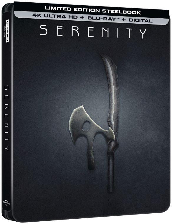 Serenity [SteelBook] [Includes Digital Copy] [4K Ultra HD Blu-ray/Blu-ray] [Only @ Best Buy] [2005] 6237502