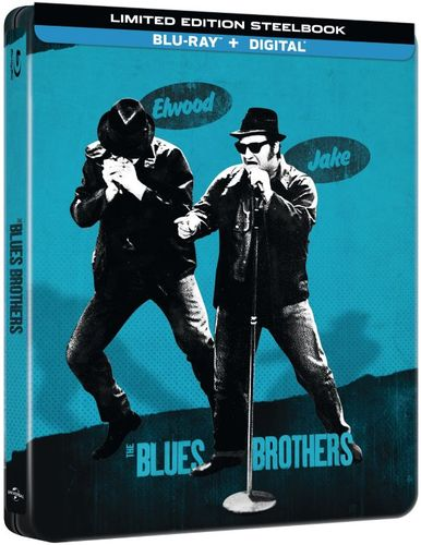 The Blues Brothers [SteelBook] [Includes Digital Copy] [Blu-ray] [Only @ Best Buy] [1980] 6237505
