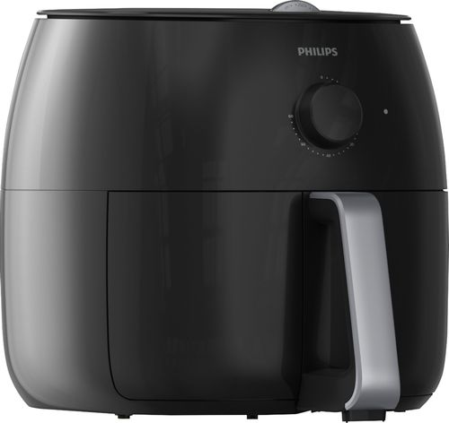 Philips - Viva Collection 4 qt. Twin TurboStar™ Analog Air...