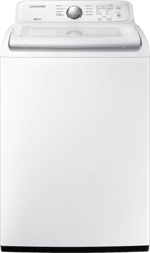 Samsung - 4.5 Cu. Ft. 8-Cycle Top-Loading Washer - White 6239145