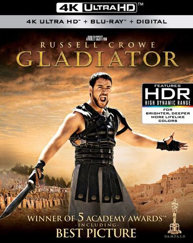 Gladiator [4K Ultra HD Blu-ray/Blu-ray] [2000] 6239220