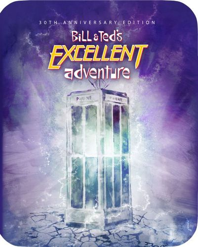 Bill and Ted's Excellent Adventure [30th Anniversary Edition SteelBook] [Blu-ray] [1989] 6239558
