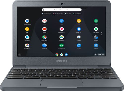 Samsung Chromebook 3 XE501C13K - Celeron N3060 / 1.6 GHz - Chrome OS - 2 GB RAM - 16 GB eMMC - 11.6u0022 1366 x 768 (HD) - HD Graphics 400 - 802.11ac - night charcoal