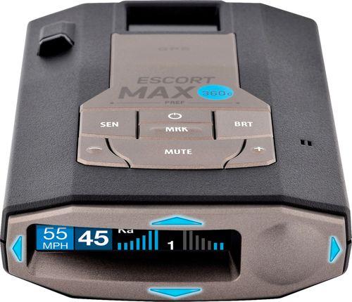 Escort MAX 360c Radar Detector – BrickSeek