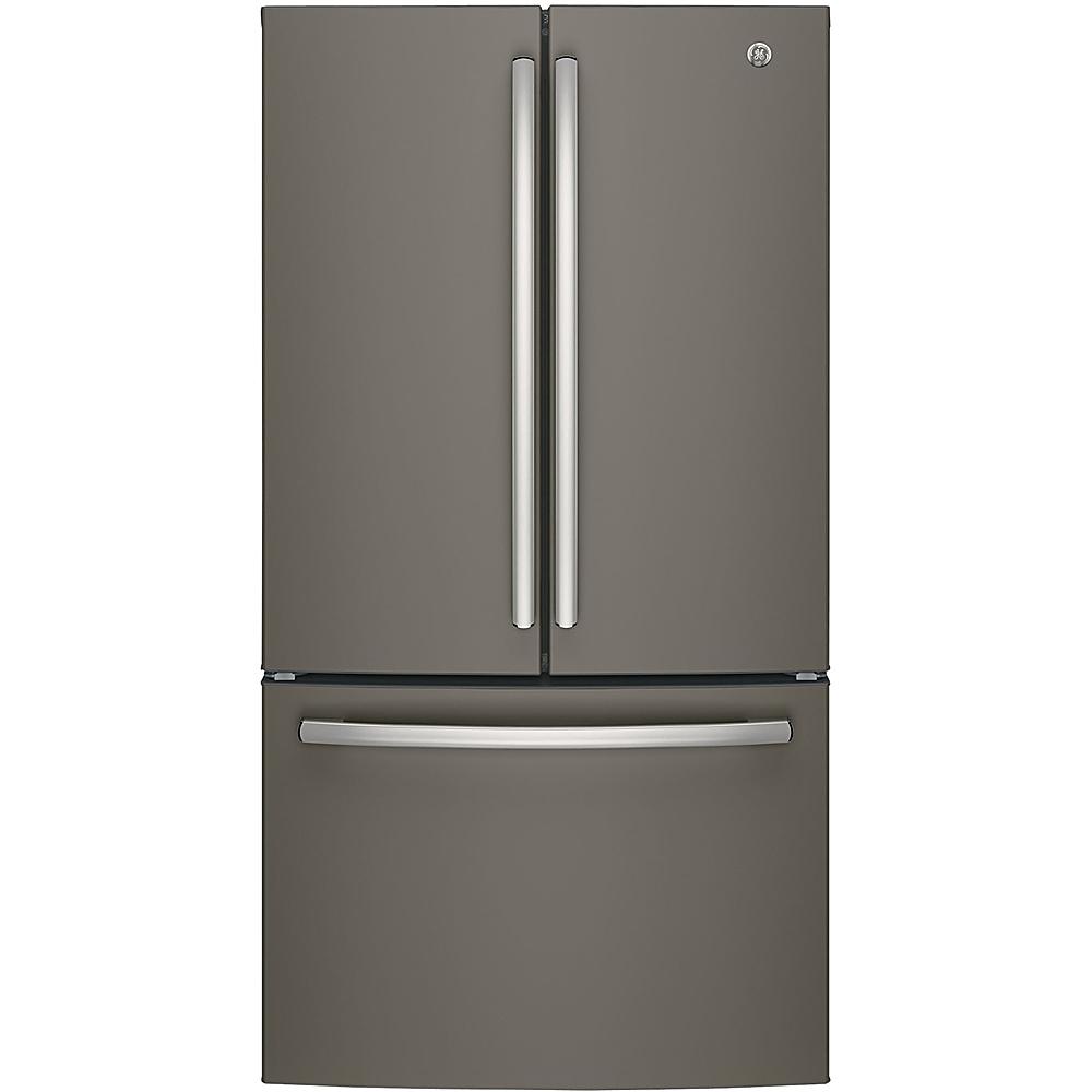 GE 27 Cu. Ft. French Door Refrigerator Slate GNE27JMMES
