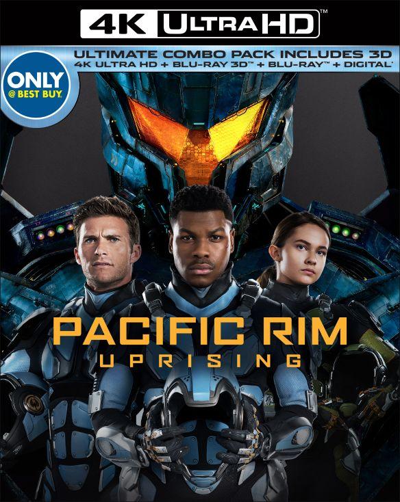 Pacific Rim: Uprising [Includes Digital Copy] [3D] [4K Ultra HD Blu-ray/Blu-ray] [Only @ Best Buy] [4K Ultra HD Blu-ray/Blu-ray/Blu-ray 3D] [2018] 6240902