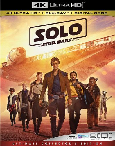 Solo: A Star Wars Story [4K Ultra HD Blu-ray/Blu-ray] [2018] 6243854