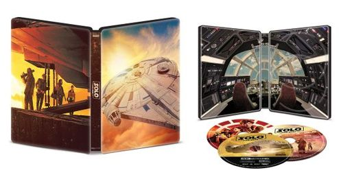 Solo: A Star Wars Story [SteelBook] [4K Ultra HD Blu-ray/Blu-ray] [Only @ Best Buy] [2018] 6243856