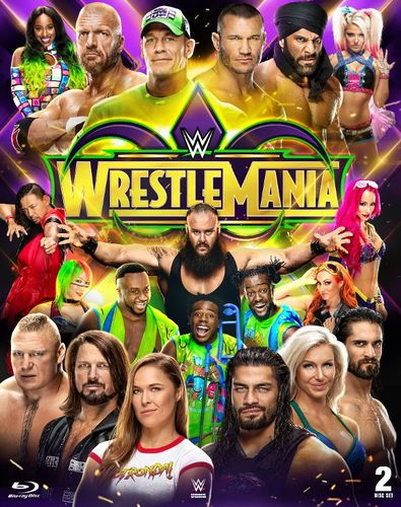 WWE: Wrestlemania XXXIV [Blu-ray] [Only @ Best Buy] [2018] 6245705