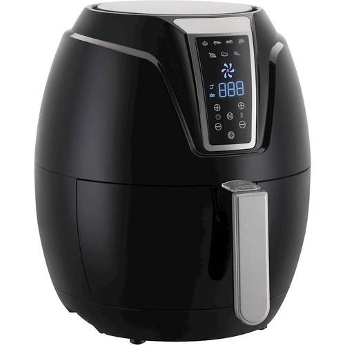Emerald - 3.2L Digital Air Fryer - Black