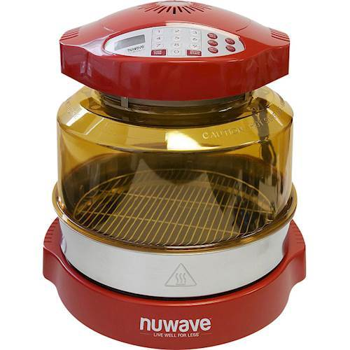 NuWave - Oven Pro Plus Convection Toaster/Pizza Oven - Red 6247227