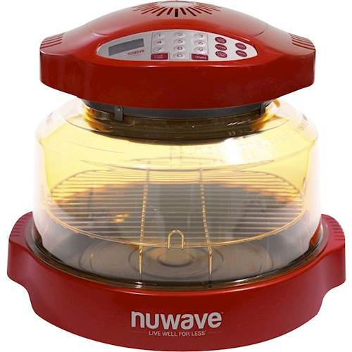 NuWave - Oven Pro Plus Convection Toaster/Pizza Oven - Red 6247228